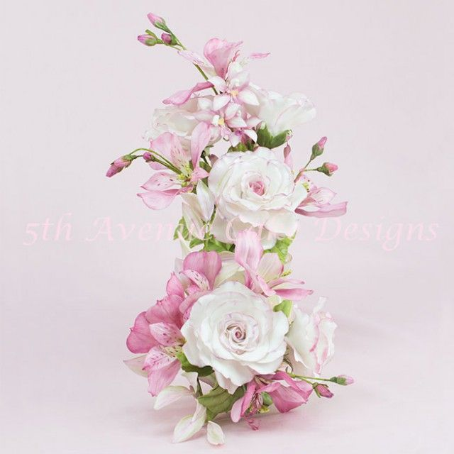 flower paste lily tutorial and perfect wedding keepsake!