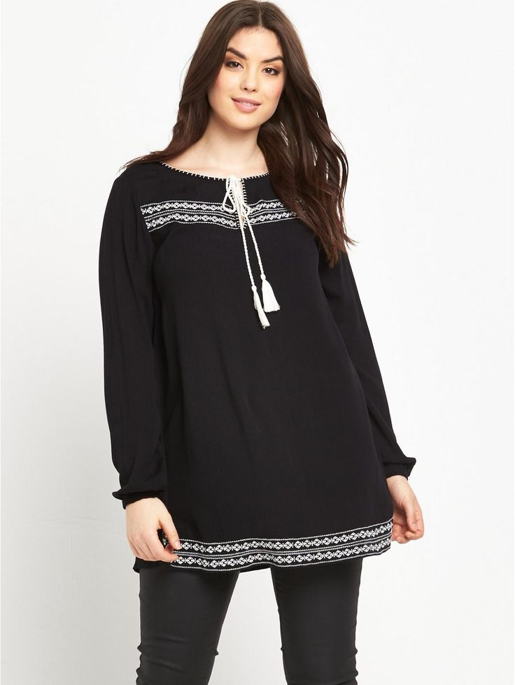 So Fabulous Embroidered Tassel Tie Blouse, http://www.littlewoodsireland.ie/so-fabulous-embroidered-tassel-tie-blouse/1600050528.prd