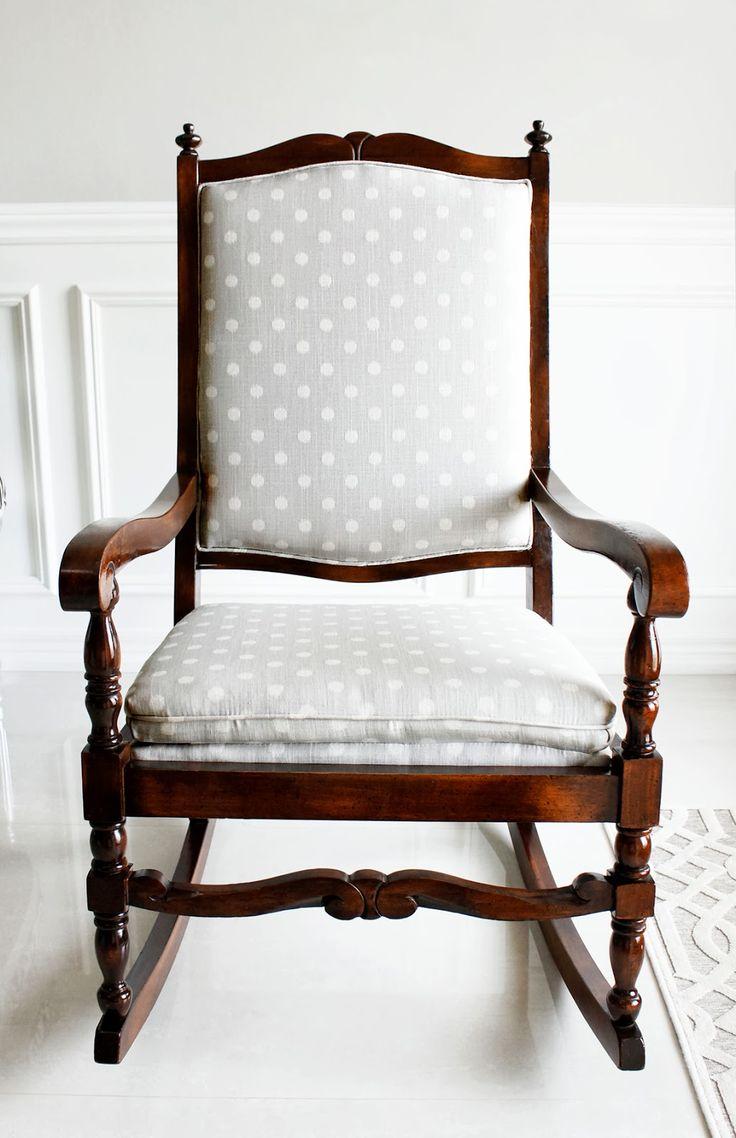 AM Dolce Vita: Rocking Chair Makeover