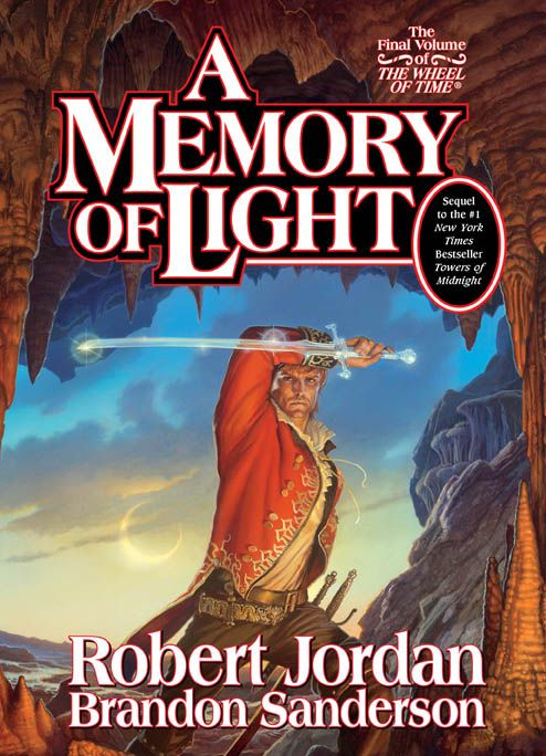 """The Final Volume of """"The Wheel of Time"""" series by Roberto Jordan. This final book is penned by Brandon Sanderson, who took over the series after Jordan's death."""