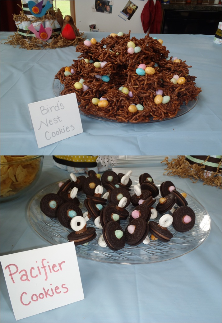 Pacifier Cookies Baby Shower Ideas Pinterest Bird
