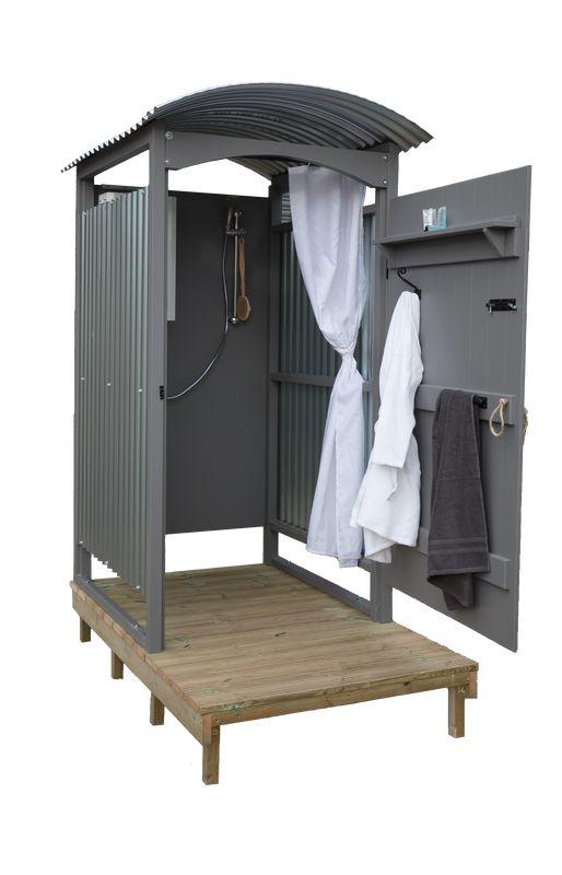 93 besten gartendusche bilder auf pinterest au enduschen duschen und badewannen - Duschschnecke bauen ...