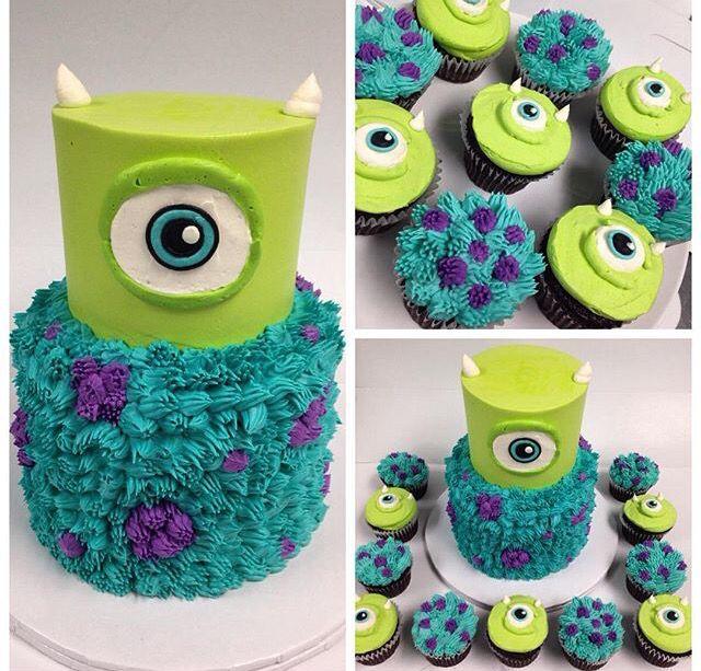 How Do You Make A Monsters Inc Cake