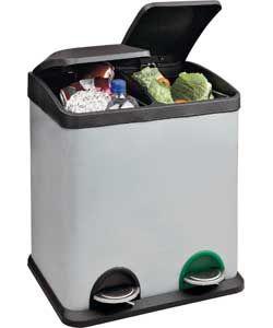 17 best dual compartment trash cans images on pinterest. Black Bedroom Furniture Sets. Home Design Ideas