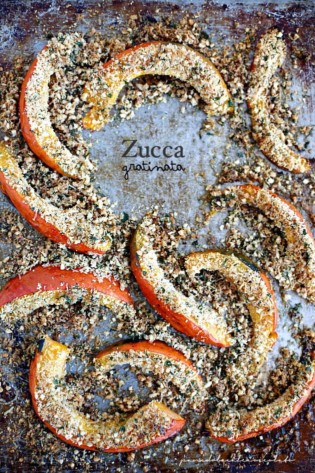 PANEDOLCEALCIOCCOLATO: Zucca gratinata ( Pumpkin gratin)