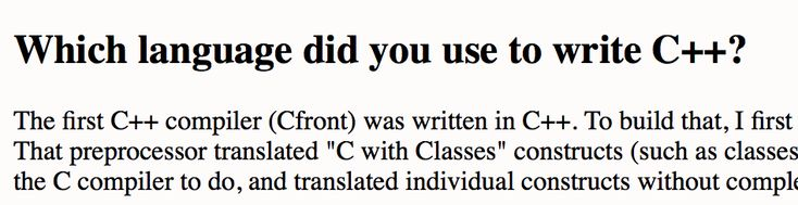 Of course C is written in C. #programming #coding #software #developers #webdev #sysadmin #programmers #cs