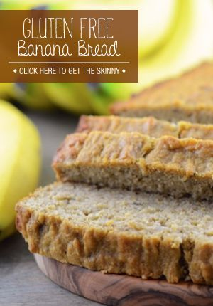 This banana bread is so easy to make and so tasty!