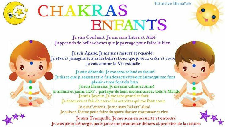 Chakras enfants  Www.facebook.com/energiedevieandreannebelleau
