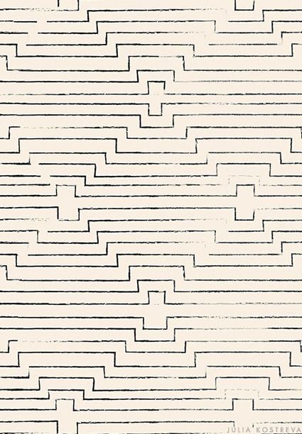 This would be a cool quilting pattern...  Julia Kostreva