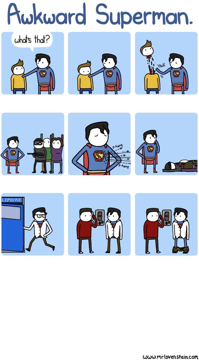 Awkward SupermanGeek, Laugh, Awkward Superman, Funny Stuff, Humor, Things, Super Heroes, Comics, Superhero