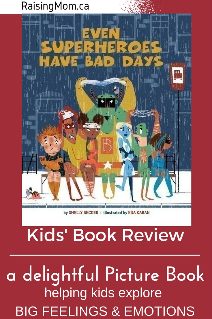 Even Superheroes Have Bad Days by Shelley Becker – Picture Book Review  -->What do you do when you're having a bad day? How do your feelings and emotions translate into the things you do and say? How about your kids? How do they deal with their 'bad days'? Most children nowadays are familiar with the concept of Superheroes. Author Shelly Becker has taken something that is appealing to a large audience, added a life lesson, and made it fun and easy for kids to understand. See link for full…