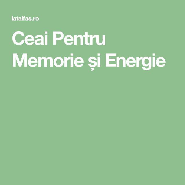 Ceai Pentru Memorie și Energie