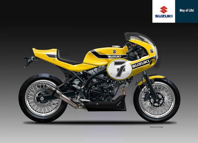 Racing Cafè: Design Corner - Suzuki SV 650 RR Yellow Weapon by ...