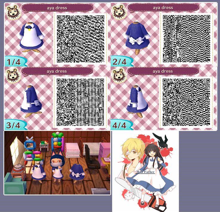 Animal Crossing New Leaf Qr Codes Mad Father Animal Crossing New Leaf Qr Codes Pinterest