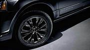 20-inch Dark Finish aluminum wheels are available on Navigator and Navigator L. http://www.tuttleclickford.com/