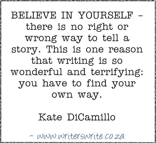 Quotable – Kate DiCamillo – Writers Write