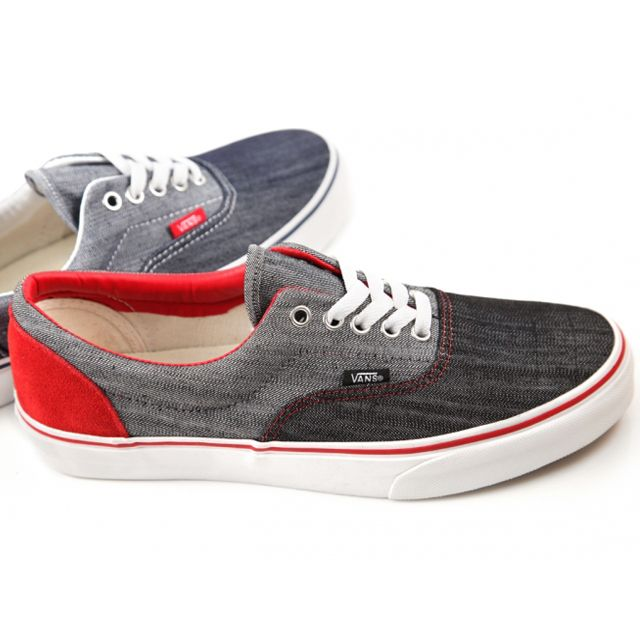 Vans has just released a couple of new Eras which sport denim uppers. Look  for the sneakers now at select Vans retailers including DQM.