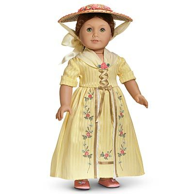 Felicity Merriman,American girl doll,retired in 1991,however books about her life are currently available.