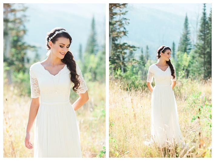 Nice  best Modest Wedding Dresses under images on Pinterest Wedding dressses Bridal dresses and Modest wedding dresses