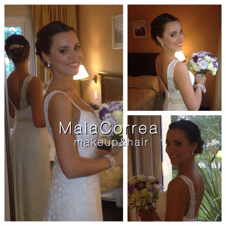 Valentina ceremonia, #maquillaje #peinado #novia  #bride #makeup #hair