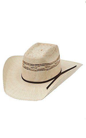 Twister Two Tone Bangora Straw Vented Crown Children's Cowboy Hat | Cavender's