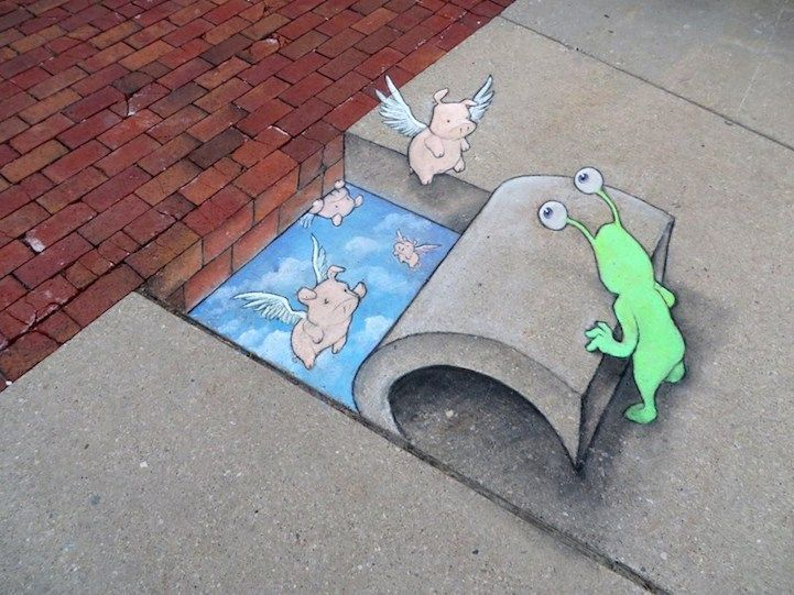 wallet purse Delightful Illustrations of Quirky Characters on the Streets of Ann Arbor | Met, David Zinn and Modern
