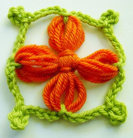 Flower Looms: Dogwood Flowers and a Special Pin Loom