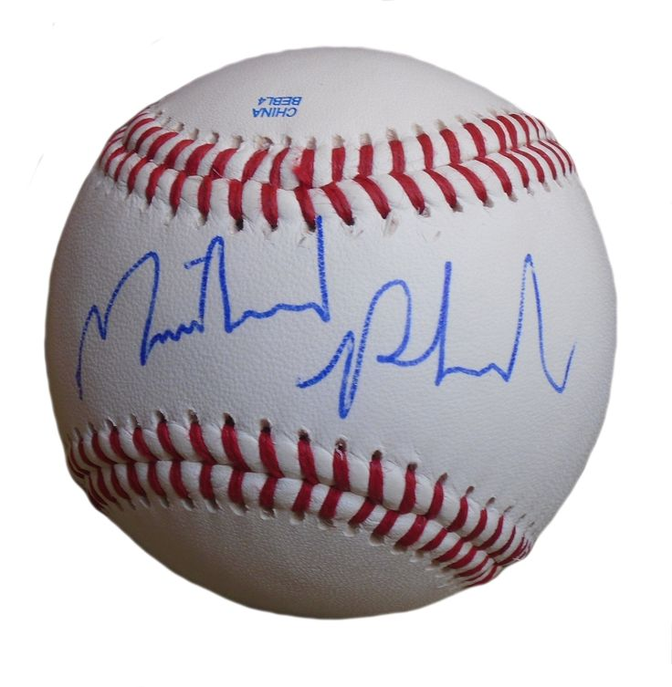 23-Time Olympic Gold Medalist Michael Phelps Autographed Rawlings ROLB1 Leather Baseball, Proof Photo