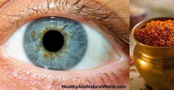 According to a recent research - this ingredient can save and restore your vision.  Saffron for macular degeneration.