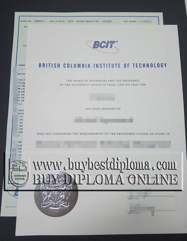 The British Columbia Institute Of Technology Also Referred To As BCIT Is A Public Polytechnic Institution Higher Education Buy Diploma And