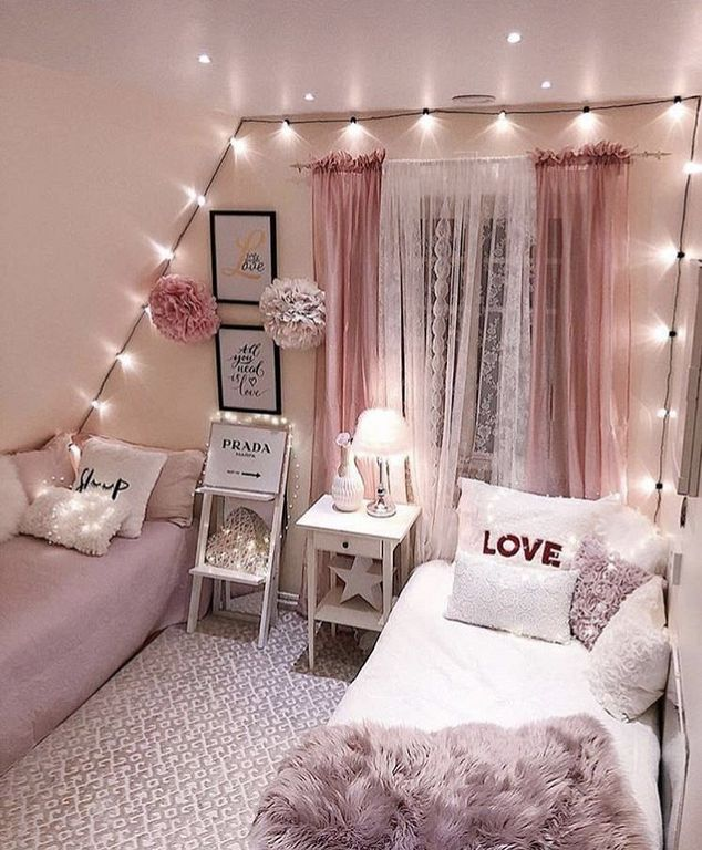 20+ Cute And Girly Bedroom Decorating Ideas For Apartment ...