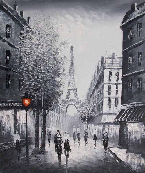 the street of paris