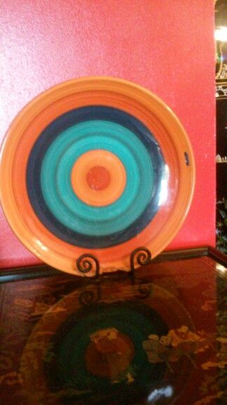 A designer plate, It is from brazil