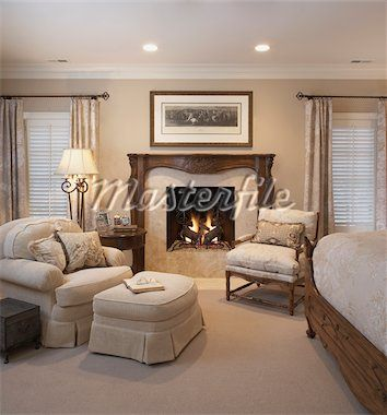 Gas Fireplaces For Bedrooms White And Cream Color Theme Rococo Style Wood Fireplace Mantel