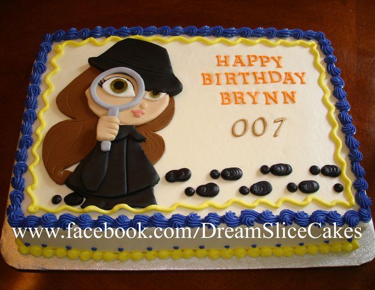 Spy girl cake :)