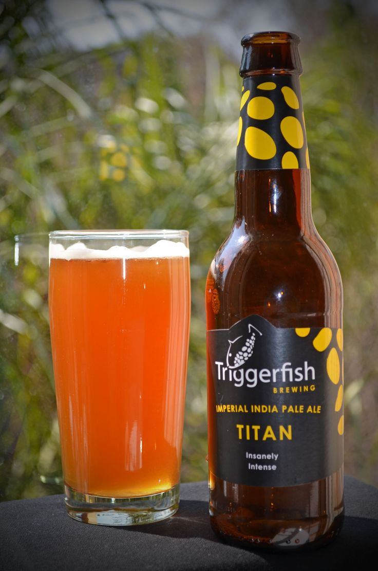 Triggerfish Brewery - Titan IPA (Craft Beer)