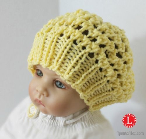 Loom Knit Baby Hat Pattern Free : Best images about loom knit baby on pinterest free
