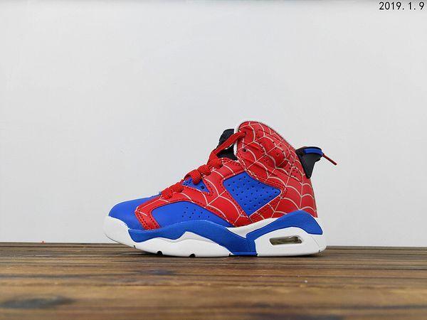 Kids 🕷 Spider-Man air Jordan 6s for