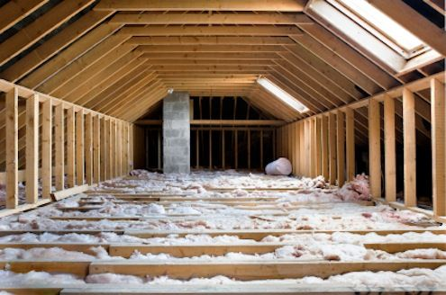 """Tip of the Day: the most important area to insulate is your attic floor. This fully insulated """"buffer zone"""" will help keep heat where you want it and keep the lid on your energy costs. The idea is to trap a layer of unmoving air next to the heat source, which in this case is your heated home. The R-value of insulation is the measure of its resistance to heat flow. The higher the value, the more effective it is."""