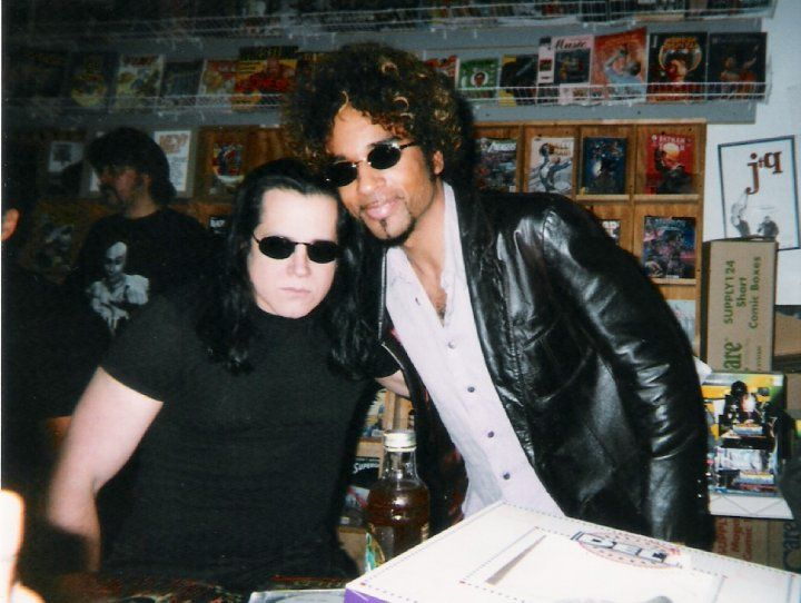 Glenn Danzig and William DuVall.
