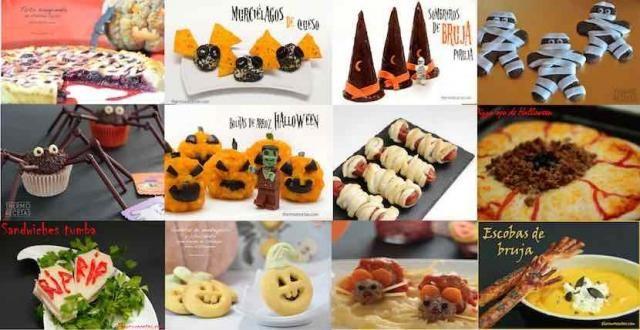 12 recetas monstruosas para Halloween