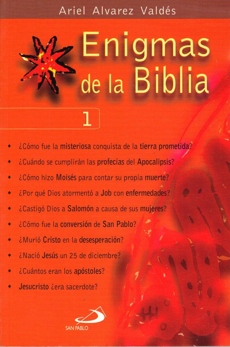 Para aprender sobre los textos sagrados, estudios de  Ariel A Valdez. En forma de preguntas, muy ameno y didáctico.