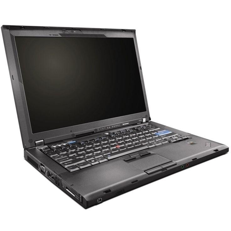 eN-Tech Lenovo ThinkPad T400 14.1-inch - Intel Core 2 Duo 2.26GHz 8GB Sodimm DDR3 120GB Windows 10 Home 64-Bit Refurbished Laptop