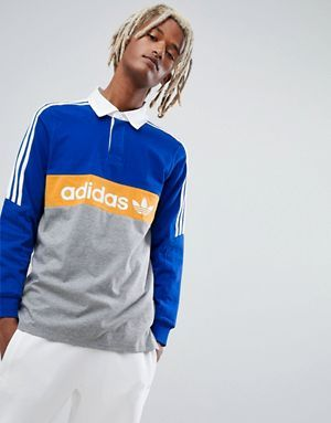 In Dh3912Color Shirt Blue Rugby Adidas Skateboarding Heritage 9WHE2IeDY