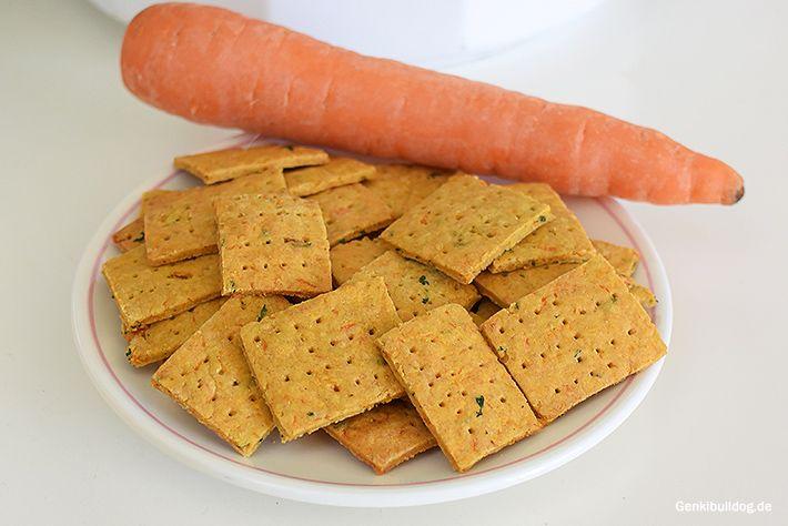 Karotten Kräcker Rezept für Hunde