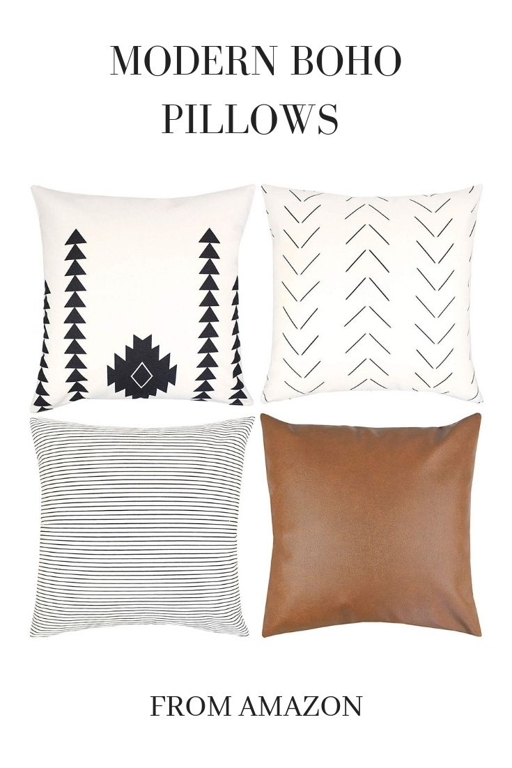 Modern Boho Pillows Boho Pillows Modern Pillows Farm House Living Room