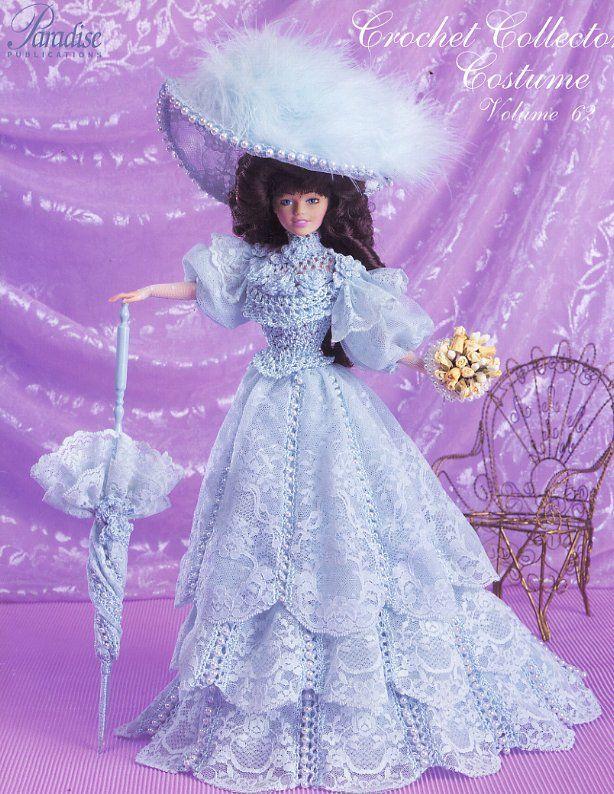 Barbie, Crochet Collector Costume Vol. 62