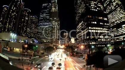 Check out this Traffic Rush Hour Driving Time-lapse HD Stock Footage Clip. Static shot made at night. Long shot. 2010-09-25, UNITED STATES.