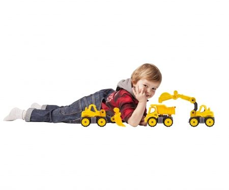 BIG-Power-Worker Mini Bagger, Mini Kipper und Mini Radlader