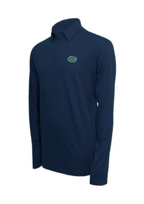 Campus Specialties Florida Gators Long Sleeve Polo Shirt - Heather Blue - 2Xl